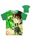 Chłopcy t-shirty Ben 10 Protector of Earth koszulki odzież Cartoon koszulka z krótkim rękawem chłopcy koszulki t-shirty odzież d