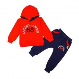 Zestawy ubrań dla niemowląt dzieci 2 3 4 5 6 lat urodziny garnitur chłopcy dresy dzieci marki dresy sportowe bluzy z kapturem +