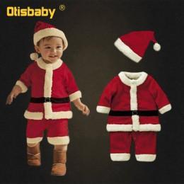 0-12T nowy rok dla dzieci święty mikołaj Cosplay kostium karnawał Party boże narodzenie dziewczyny czerwona sukienka dla dzieci