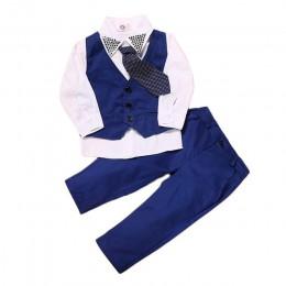 Odzież dla dzieci jesień zima maluch chłopcy odzież strój garnitur ubrania dla dzieci dres na zestawy ubrań dla chłopców 2 3 4 5