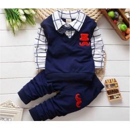 BibiCola wiosna jesień zestaw ubranek dla chłopca odzież dziecięca zestawy produkty dla dzieci odzież dla niemowląt chłopcy t-sh