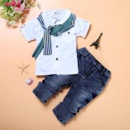 Ubrania dla dzieci jesienne zimowe ubrania dla dzieci chłopcy SpiderMan t-shirty + spodnie 3 szt. Garnitury sportowe kostium dla