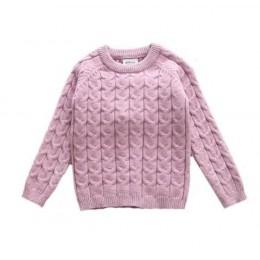Dla dzieci chłopcy dziewczęta odzież ustawia jesień zima sweter + spodnie dla niemowląt chłopców dzianiny dresy berbeć dziewczyn