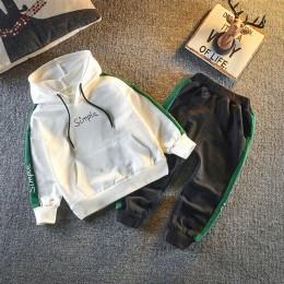 2020 wiosna jesień dzieci maluch Boys Baby dziewczyny ubrania spodnie bluza z kapturem 2 sztuk/zestaw strój niemowlę dzieci dory