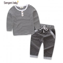 Nowe zestawy ubrań dla chłopców wiosna jesień zestawy dla dzieci dla dzieci bawełna Star Boy dresy dla dzieci garnitury koszulka
