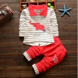 BibiCola wiosenna jesienna odzież dla dzieci zestaw 2020 nowych moda dla chłopców koszula fałszywe ubrania sportowe garnitur dla