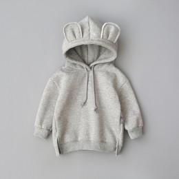 Nowa wiosna jesień Baby Boy Girl odzież bawełniana bluza z kapturem dziecięca odzież sportowa dla dzieci niemowlę wypoczynek odz