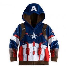 Chłopcy bluzy z kapturem płaszcze Avengers Marvel Superhero Iron Man Thor Hulk kapitan ameryka Spiderman bluza dla chłopców jesi