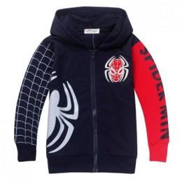 Spider-Man chłopcy bluzy wiosna kreskówka spiderman bluzy dla chłopców pełna rękaw dzieci płaszcze chłopcy bluza dzieci odzież
