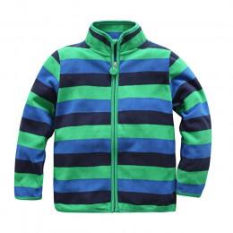 Hot-sprzedaż wiosna i jesień dzieci dzieci chłopiec dziewczyna bluzy dla dzieci chłopcy dziewczęta stripe kurtki z polaru i płas