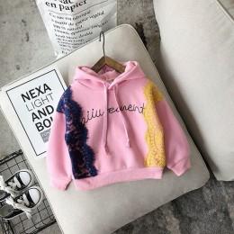 New Arrival Boys Baby dziewczyny bluzy zima wiosna jesień dziecko Plus aksamitne bluzy długie rękawy sweter dzieci T-shirt ubran