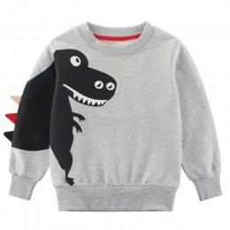 Bear Leader ubrania dziecięce 2020 wiosna nowe dzieci chłopiec dziewczyna ubrania Cartoon dinozaur księżniczka patchworkowa bluz