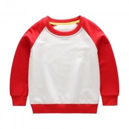 Bluza dziecięca chłopcy odzież dziecięca wiosna jesień 2019 Cartton pulowerowe topy moda odzież niemowlęca O-neck bluzy dla dzie