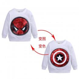 2019 T-shirt dla dzieci Boys Baby odzież dla dzieci jesień zima bluza z kapturem bluzka topy sweter dziecięcy kaptur odzież wios