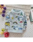 Babyinstar 2019 nowa jesienna odzież dziecięca chłopcy bluzy i bluzy odzież dziecięca topy maluch strój