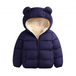 2019 jesienne zimowe ciepłe kurtki dla dziewczynek płaszcze dla chłopców kurtki dziewczynek kurtki dla dzieci kurtka z kapturem