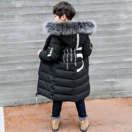 Zima zagęścić wiatroszczelne ciepłe dzieci płaszcz wodoodporna dziecięca odzież wierzchnia odzież dziecięca chłopięce kurtki dla