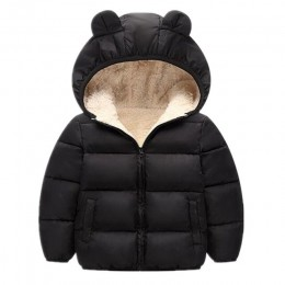 2020 zima nowy Baby Boy and Girl ubrania, ciepłe kurtki dla dzieci, dzieci sportowe kurtka z kapturem 3 kolory