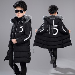 12 odzież dziecięca 13 chłopców 14 odzież zimowa 15 kurtka 2019 nowe grube pogrubione bawełną 10 lat dzieci-30 stopni