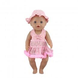 Kombinezon dla lalek pasuje do 43cm laleczka bobas Doll odrodzone ubranka dla dzieci, akcesoria dla lalek.
