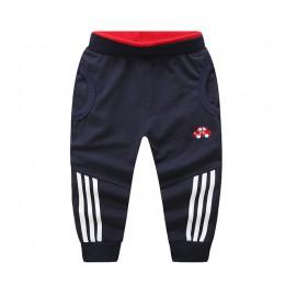 Jesień chłopcy spodnie bawełniane ciepłe nastolatki ubrania Party maluch wygodne miękkie spodnie dla dzieci dzieci kostium 11.11