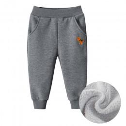 Chłopcy Plus aksamitne spodnie dziecięce spodnie sportowe zimowe 2019 nowe duże spodnie chłopięce grube ciepłe do noszenia na ze