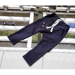 Chłopięce spodnie 2020 dziecięce wiosenne jesienne ubrania dziecięce spodnie haremowe dla chłopca spodnie trzy przyciski bawełni