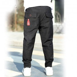 INS Hot boys spodnie 3-13 lat multi-pocket spodnie sztruksowe sportowe i rekreacyjne spodnie cargo nogi koreański moda wszechstr