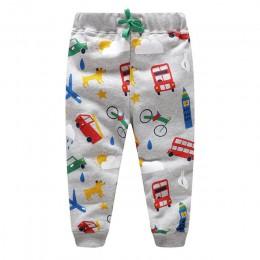 SLW skoki metrów 2019 chłopców spodnie spodnie z gwiazdy wydrukowane spodnie dresowe dla chłopców dziewcząt jesień wiosna dzieck