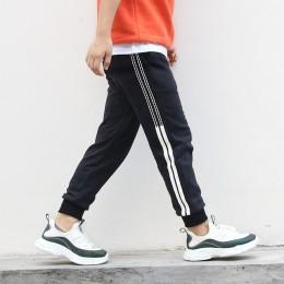 4-11 lat spodnie chłopięce w stylu koreańskim moda wiosna jesień bawełniane spodnie sportowe Enfant Garcon dzieci dzieci wygodne
