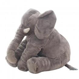 40 cm/60 cm wysokość duży pluszowy słonica zabawki poduszka do spania dla dzieci śliczne wypchany słoń dziecko towarzyszyć lalki