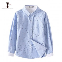 Kung Fu Ant marka oryginalna wiosna lato modny nadruk chłopięce koszule Casual Camisa Masculina bluzki dla dzieci ubrania dla dz