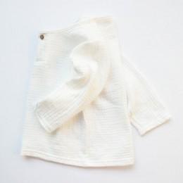 Prosta bawełna pościel dziewczyny chłopcy koszule 1-8 lat boys baby letnie ubrania dla dzieci Casual bluzka dziecięca pieczarki