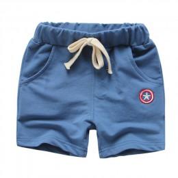 Letnie spodenki dziecięce bawełniane szorty dla chłopców dziewczęce marki Avengers spodenki dziecięce majtki dziecięce krótkie s