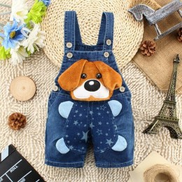 IENENS lato 1PC dzieci dziecko chłopcy odzież odzież krótkie spodnie maluch niemowlę spodnie chłopięce spodenki jeansowe dżinsy
