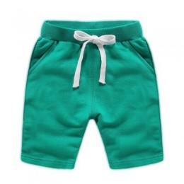VIDMID dziecięce spodenki chłopięce kolorowe letnie modne spodnie bawełniane dziecięce chłopięce solidne spodenki plażowe dzieci