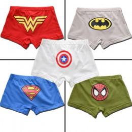 5 sztuk/partia kreskówka spiderman dzieci chłopiec bielizna dla dziecka bokserki dziecięce majtki chłopięce spodnie dla 2-13 lat
