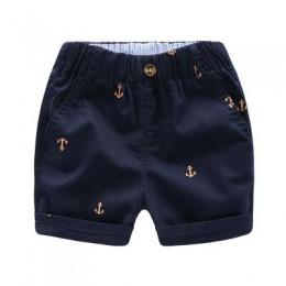 2020 dzieci letnie spodnie spodnie dla dzieci dla niemowląt chłopcy dziewczęta luźne spodenki plaża kotwica 90 ~ 140