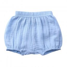 Lato dla dzieci chłopcy spodenki jednolity kolor dziecko dziewczyna spodenki bawełniane pościel chleb krótkie spodnie moda nowor