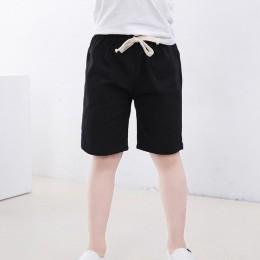 2-10 lat dzieci chłopcy spodnie spodenki do kolan cukierki kolor dziewczyny dzieci lato plaża luźne spodenki spodnie bawełniane