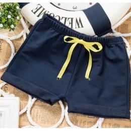 Unisex chłopcy dziewczęta spodenki bawełniane plażowe szorty letnia gorąca sprzedaż spodenki dziecięce w pasie hurtowo