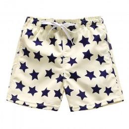 Szybkoschnące spodenki chłopięce Cartoon nastolatek spodenki plażowe dorywczo spodnie dla dzieci pływanie spodnie dla dzieci spo