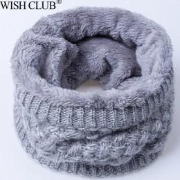 Kobiety zimowy szalik dla kobiet mężczyzn dzianiny dziecko szalik komin dzieci szalik szyi bawełny zagęszczony kołnierz szaliki
