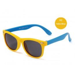 Okulary przeciwsłoneczne dla dzieci spolaryzowane dzieci klasyczne marka projektant okularów nit TAC TR90 elastyczne ramki ochro