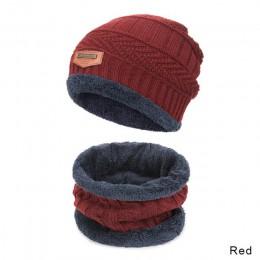 MLTBB dziecięcy czapka zimowa zestaw szalików chłopiec dziewczyna czapki robione na drutach szaliki zestaw trwała bawełna aksami