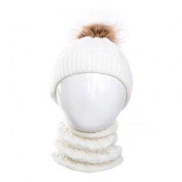 2 szt. Śliczne dziecko dziewczynka chłopiec niemowlę ciepła zimowa czapka szydełkowana czapka + szalik jednolity zestaw