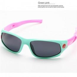 Cute Baby spolaryzowane okulary dzieci dziecko dziewczyny chłopcy okulary sportowe TR90 okulary przeciwsłoneczne polaroid odcien