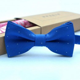 Mucha dziecięca dziecięca odzież dziecięca akcesoria jednokolorowa dżentelmen koszula krawat Bowknot Dot