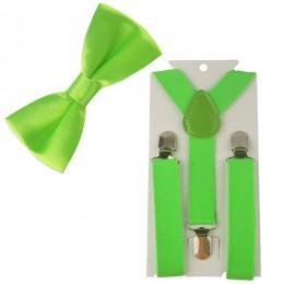 2 sztuk różnych kolor chłopcy szelki dla dzieci muszka motyl krawat łatwe do noszenia dla chłopca TR0003