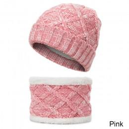 YEABIU nowe pogrubienie zima dzieci szalik kapelusz cieplej chłopcy dziewczęta czapka dla niemowląt szalik garnitur dzianina baw